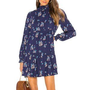NWT FREE PEOPLE Linen Blend Petit Fours Dress